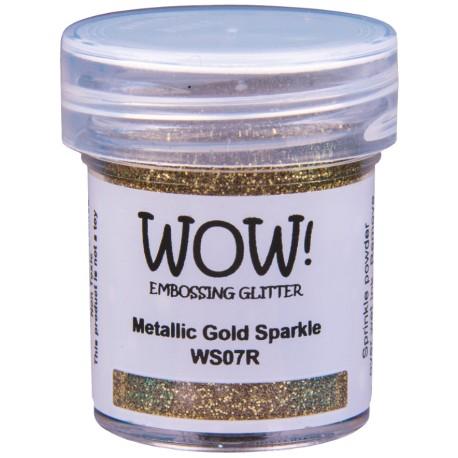 Poudre à embosser Wow - Metallic Gold Rich Sparkle (Or Soutenu Paillettes)