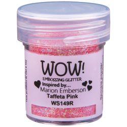 Poudre à embosser Wow - Taffeta Pink - Rose pâle (Paillettes)