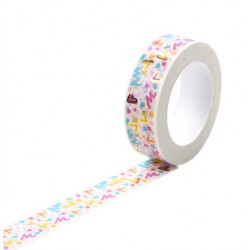 Solo Foil Tape - Cherry Blossom Pink and gold