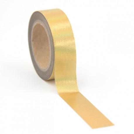 Masking Tape Foil Tape - Or reflets holographiques