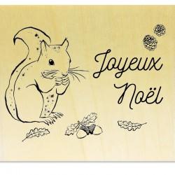 COLLECTION - Animaux des Bois - Ecureuil Joyeux Noël