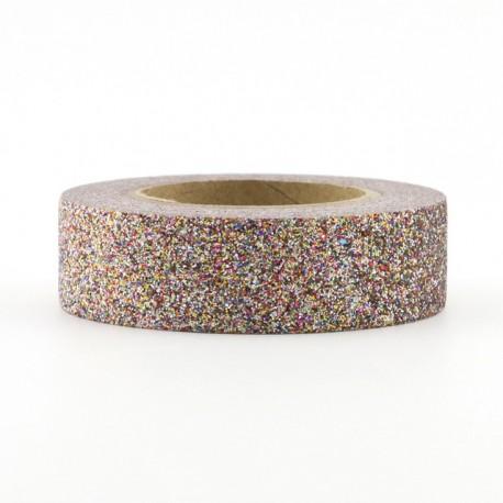 Masking Tape Paillettes - Rose Gold
