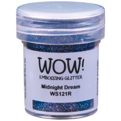 Poudre à embosser Wow - Midnight Dream (Bleu profond reflets Paillettes)
