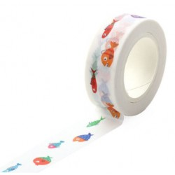 Masking Tape - Petits Poissons