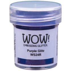 Poudre à embosser Wow - Purple Glitz (paillettes)