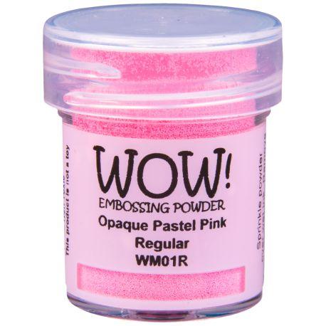 Poudre à embosser Wow - Opaque Paste Pink - Rose pastel
