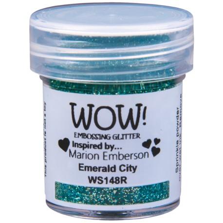 Poudre à embosser Wow - Emerald City (paillettes)