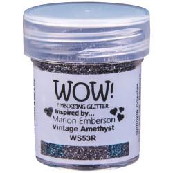 Poudre à embosser Wow - Vintage Amethyst(paillettes)