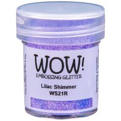 Poudre à embosser Wow - Lilac Shimmer (paillettes)