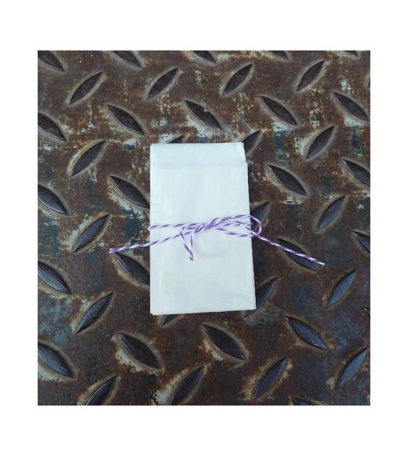 Sachets translucides 53 x 78 mm (set de 10)