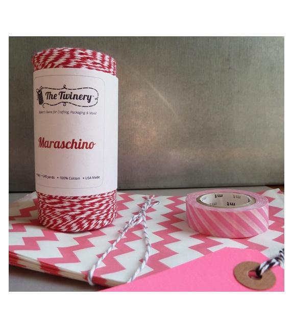 Maxi Bobine de Bakers Twine - Rouge Maraschino