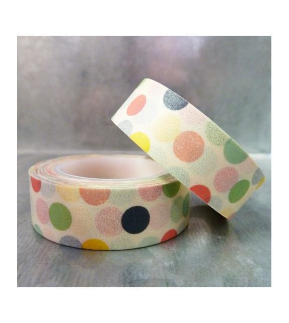 Masking tape - Pois Pastels