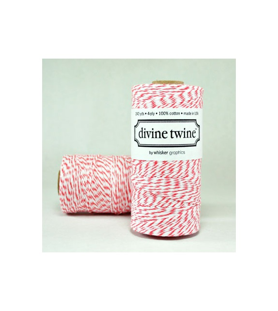 Maxi Spool of Bakers Twine - Coral